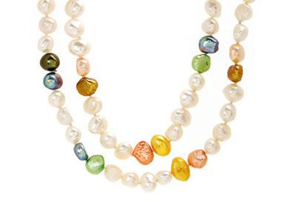 Brand New Necklace With Genuine Freshwater Pearls