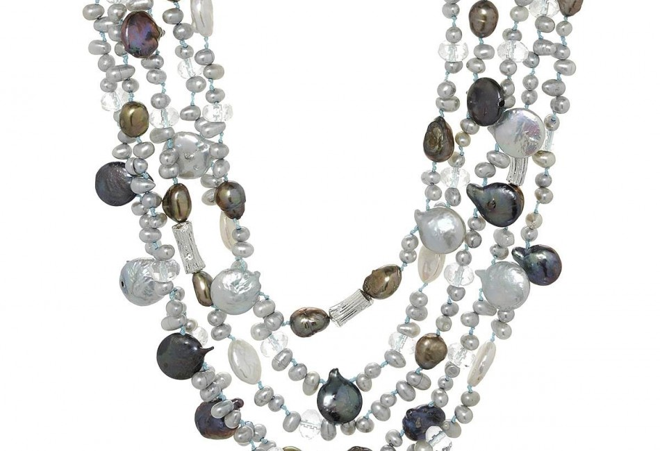 Brand New Necklace With Precious Stones